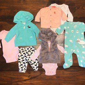 4 Newborn Outfits